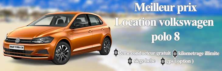 location volkswagen polo 8 Tunisie